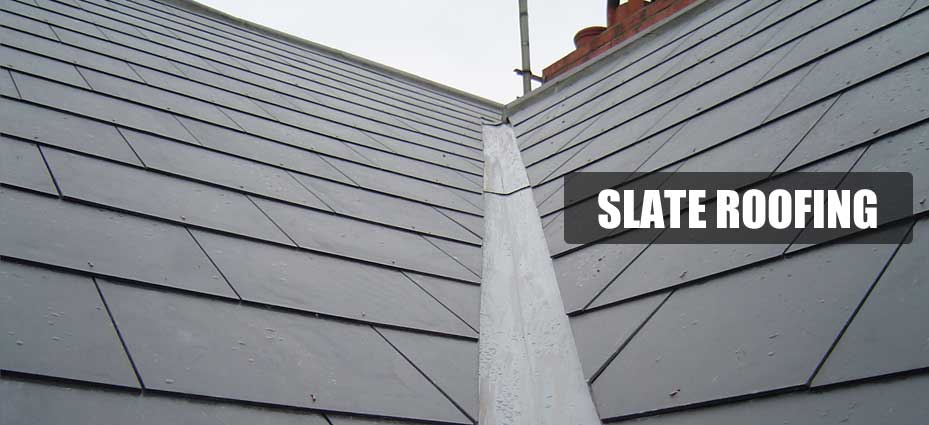 brand new slate roofing