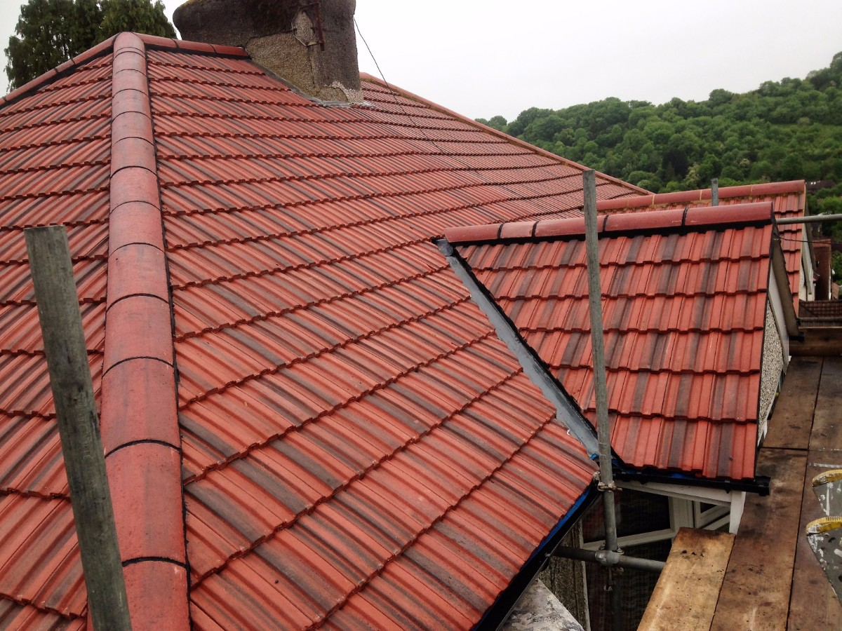concrete tiled roof replacement