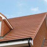 Full roof fitted with marley roof tiles